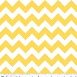 Medium Chevron Yellow - Riley Blake Flannel