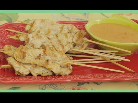 140 best yin yang living videos images on pinterest yin yang asian healthy food recipes thai chicken satay with peanut sauce recipe forumfinder Images