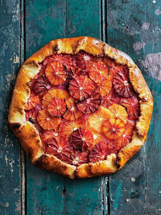 Caraway And Blood Orange Tart | Donna Hay