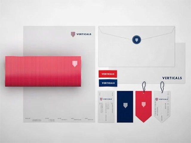 Verticals - Contoh Corporate Identity untuk Branding Bisnis