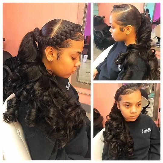 Cute Weave Hairstyles For Teens