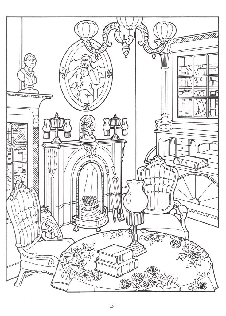 56 best Famous Art coloring pages