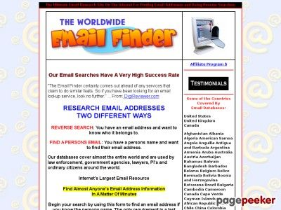nice #The Ultimate Worldwide Email Address Finder - 95% Success Rate