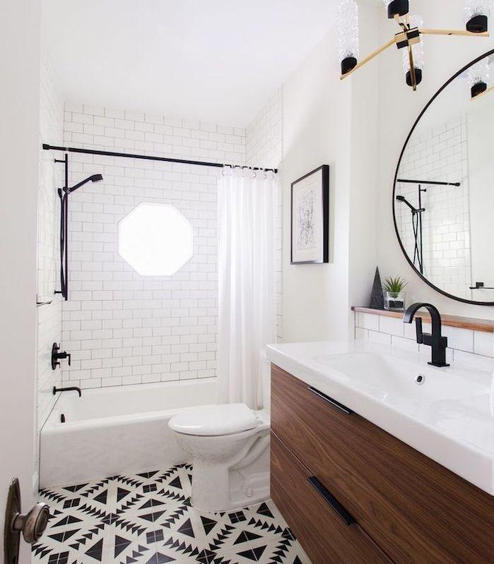 1620 best salle de bain images on pinterest for Idee petite salle de bain avec baignoire
