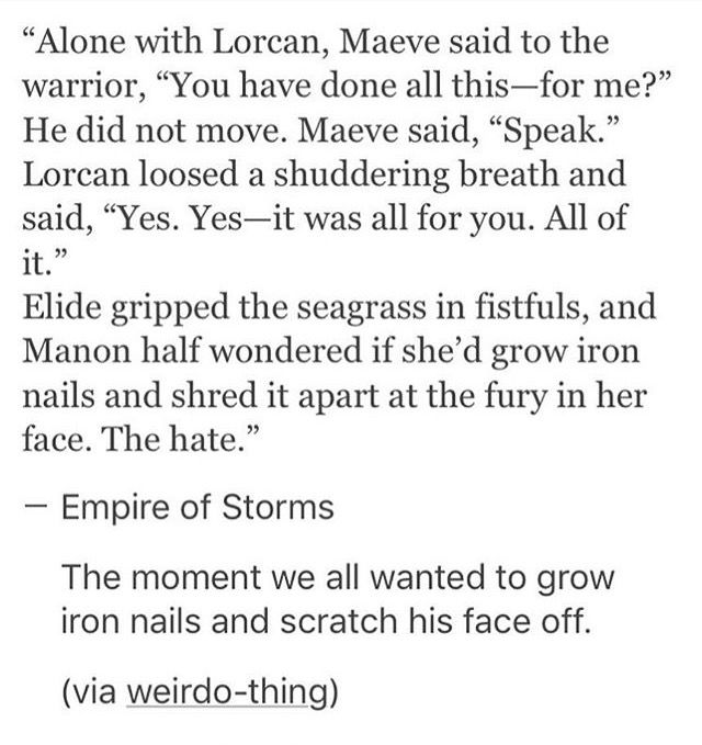 Seriously like, you messed up Lorcan