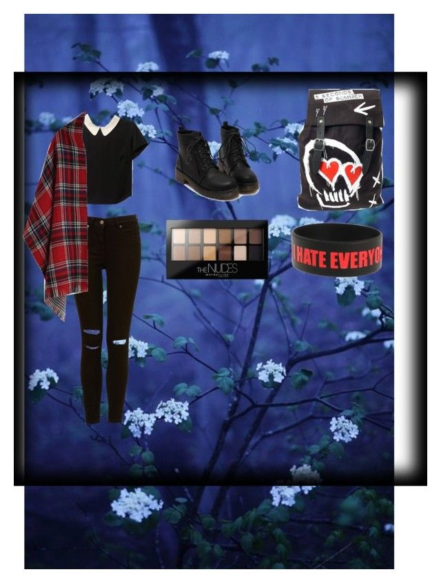 """"" by mintopie on Polyvore featuring Maybelline"