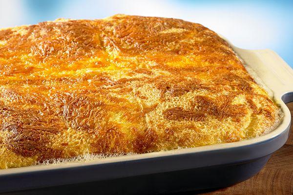Breakfast Cheese Soufflé