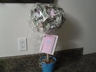 Money Tree....cute graduation gift idea