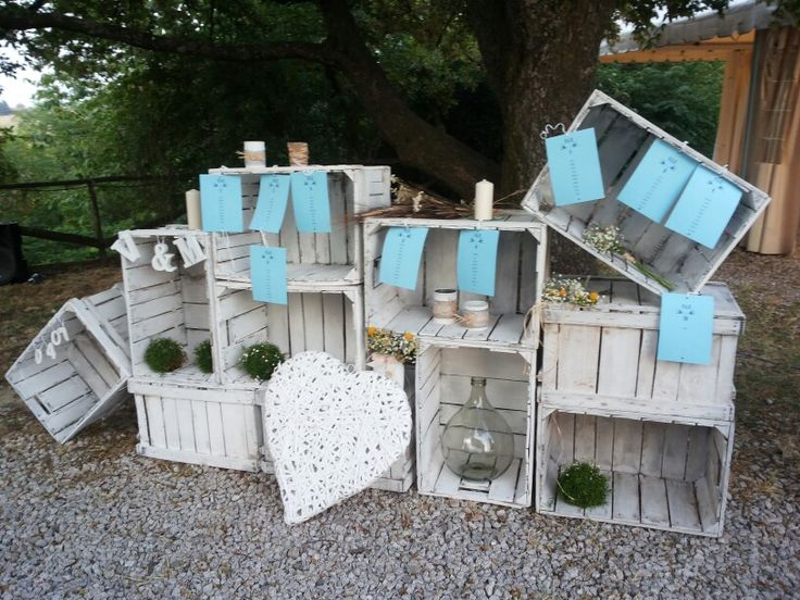 Tableau marriage alternativo idea bellissima idee for Tableau style shabby chic
