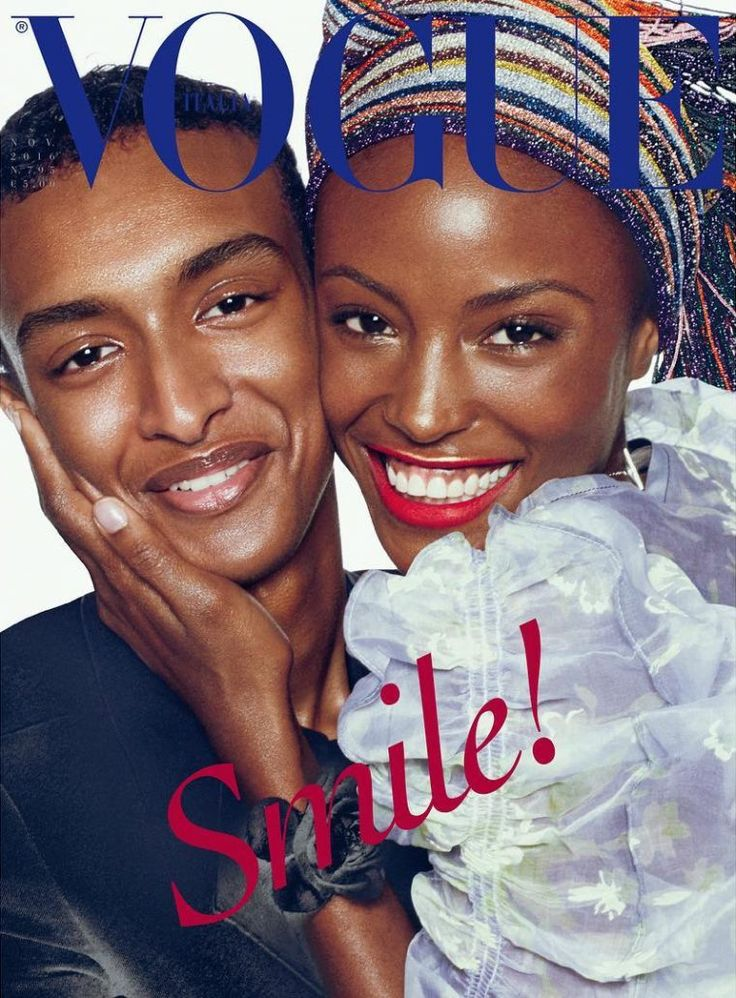 Alicia Burke & Hussein Abdulrahman by Steven Meisel for Vogue Italia November 2016 Cover