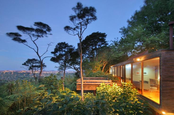 Brian Brake house, Titirangi (Frank Breslin Photography)