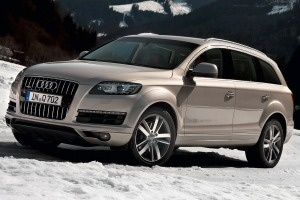 New car - Audi Q7 for the driveway!