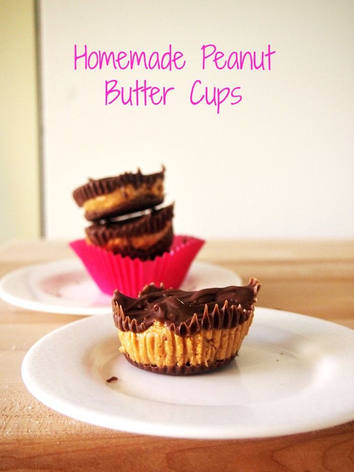 Carob Peanut Butter Cups