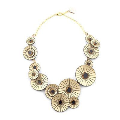 Kyoto Graphic Statement Necklace by Cilea||RLCTB : Cilea