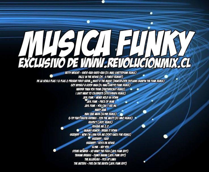 descarga MÚSICA FUNKY – EXCLUSIVO DE REVOLUCIONMIX ~ Descargar pack remix de musica gratis   La Maleta DJ gratis online