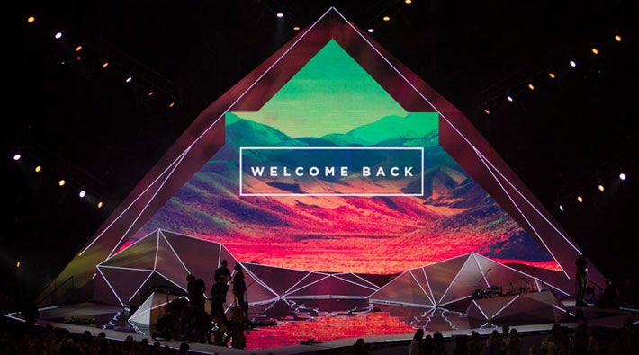 conference stage backdrop design - Google Search   Stage ... - photo#27