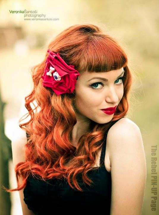 Pin Up Hair Inspiration Pinterest Pin Up Bangs And Hair