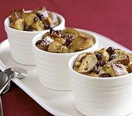 French Toast Bagel Pudding