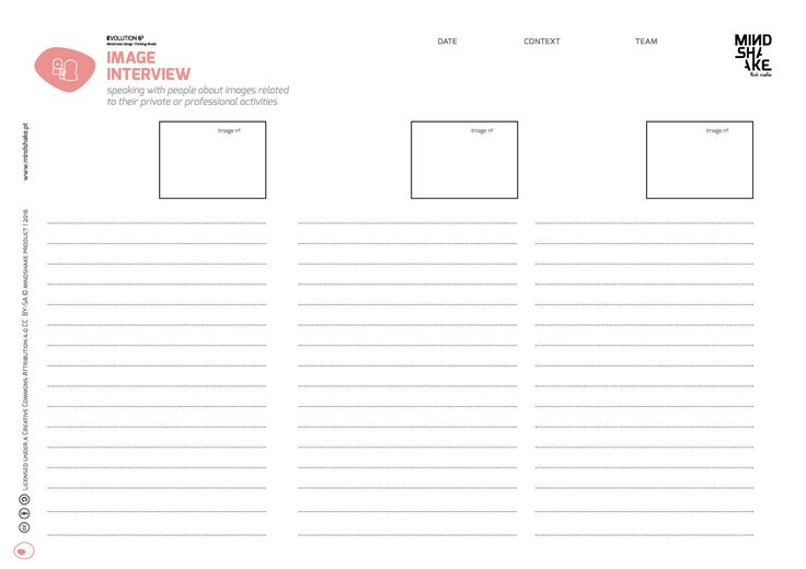 Image Interview Mindshake Design Thinking Templates Pdf Http