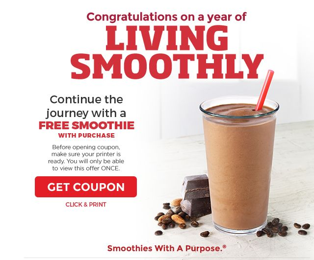 picture regarding Tropical Smoothie Coupons Printable referred to as Smoothie king discount coupons 2018 / Sears coupon codes boy or girl outfits
