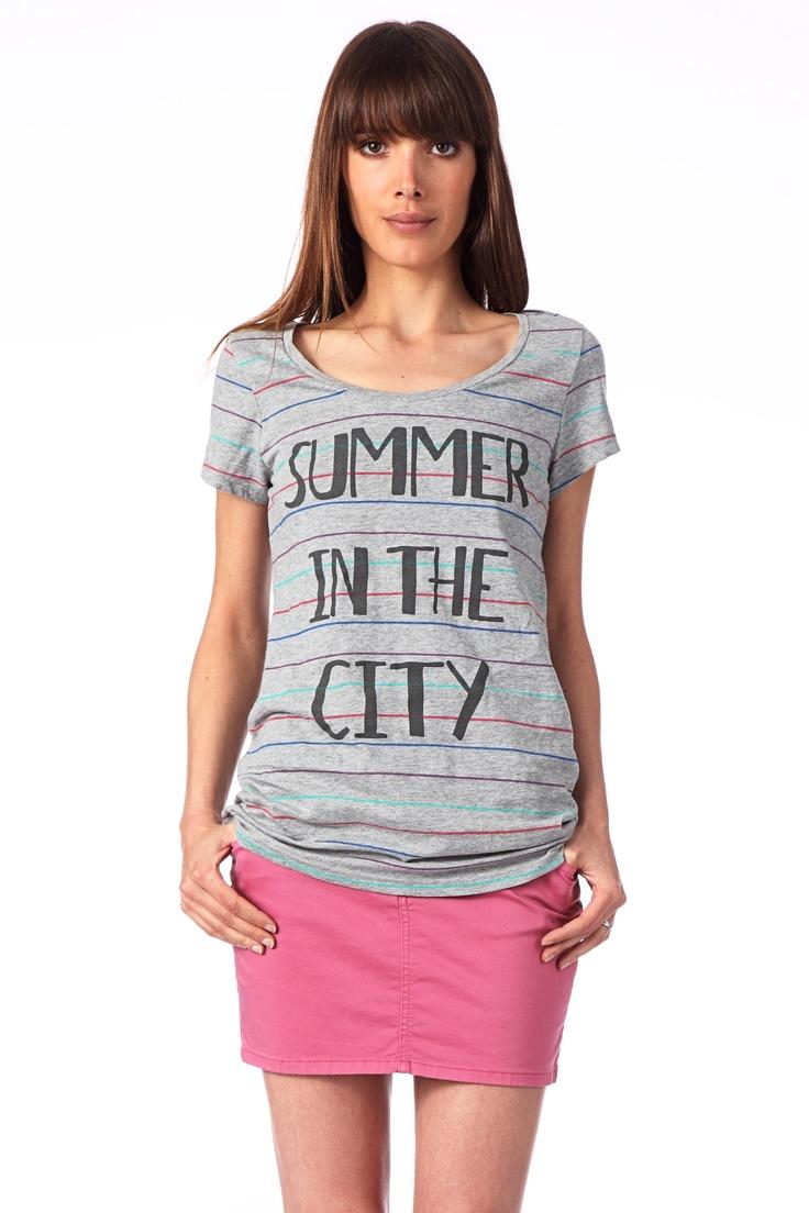 Llamando verano a la ciudad.