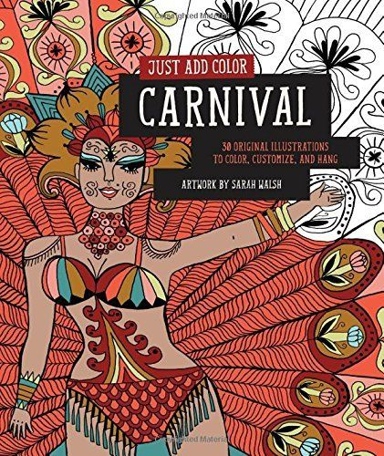 Fresh Thrill Murray Coloring Book 72 Just Add Color Carnivale