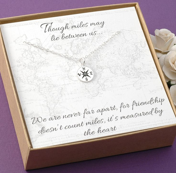 Compass Necklace  Friendship Jewelry BFF by DivineJewelrybyMary, $28.00