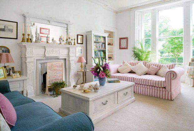 shabby chic | Dom zaaranżowany w stylu shabby chic sprawia wrażenie zamieszkanego ...