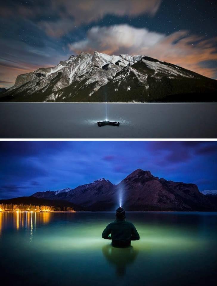 Alone in Breathtaking Landscapes by Paul Zizka.