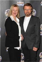 ABBA IN ATTENDANCE AT WORLD PREMIERE OF  ABBAWORLD, LONDON