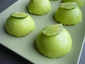 tarte au citron vert revisitée