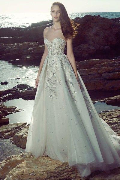 66 best Zuhair Murad Dresses images on Pinterest | Hochzeitskleider ...