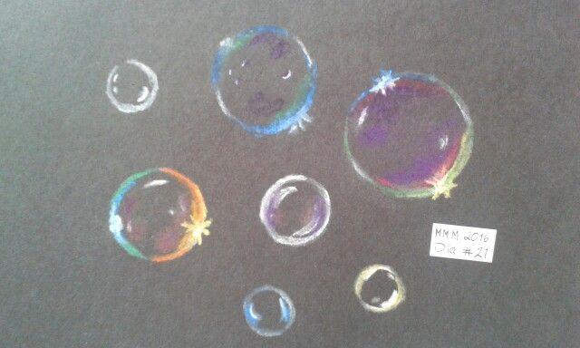 Burbujas - Gises pastel.