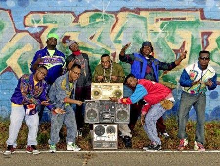 Стиль хип-хоп 80-х