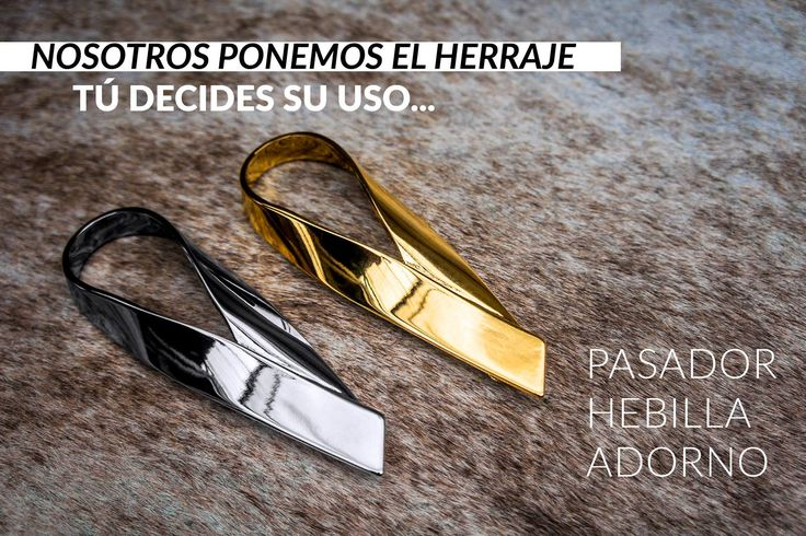 ¡ANTÓJATE! Un Herraje, miles de usos. Nuevos e irresistibles pasadores.  Visítanos en: www.abcherrajes.com  Twitter: @abcherrajes Instagram: @abcherrajes Facebook: abcherrajes Pinterest: abcherrajes  #ABCHerrajes #fashion #fashiongram #life #regram #handmade #artwork #gold #Adornos #Elegancia #Lujo #Accesorios #Pretty #diseñosexclusivos #TopProduct #loveit #InStyle #Colorful #beautiful #MetalFitting #LeatherGoods #Ornaments #DogClips #NewSexyNow #fresh #Nicelook #Pasador #Barrete #Hebilla…