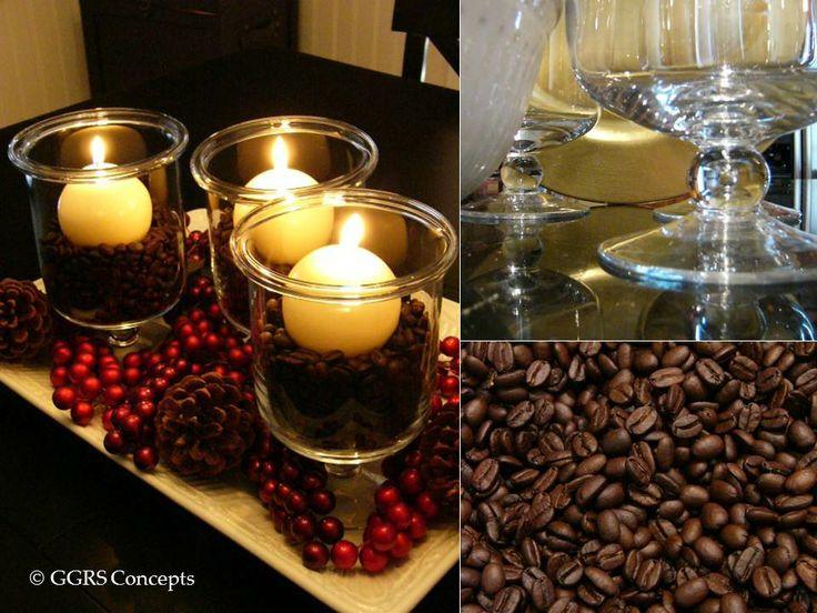 Coffee Bean Decor Vase Fillers
