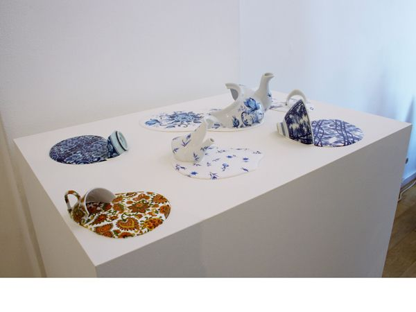 Livia Marin Broken Things Deconstructed Sculptures