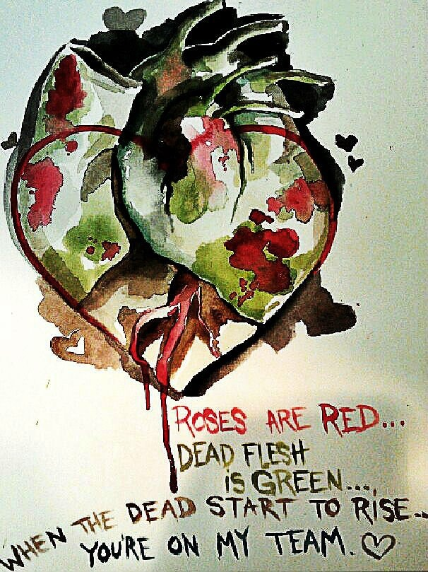 54 best images about Zombie Valentines Day – Zombie Valentines Cards