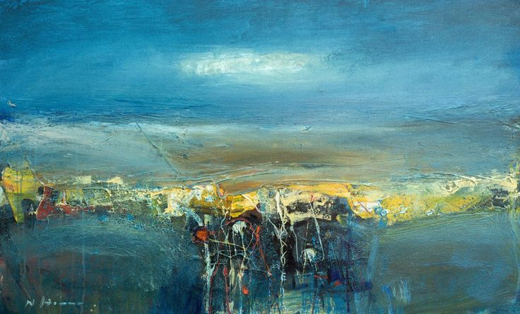 Nael Hanna, Sea Elements, Mixed Media | Scottish Contemporary Art