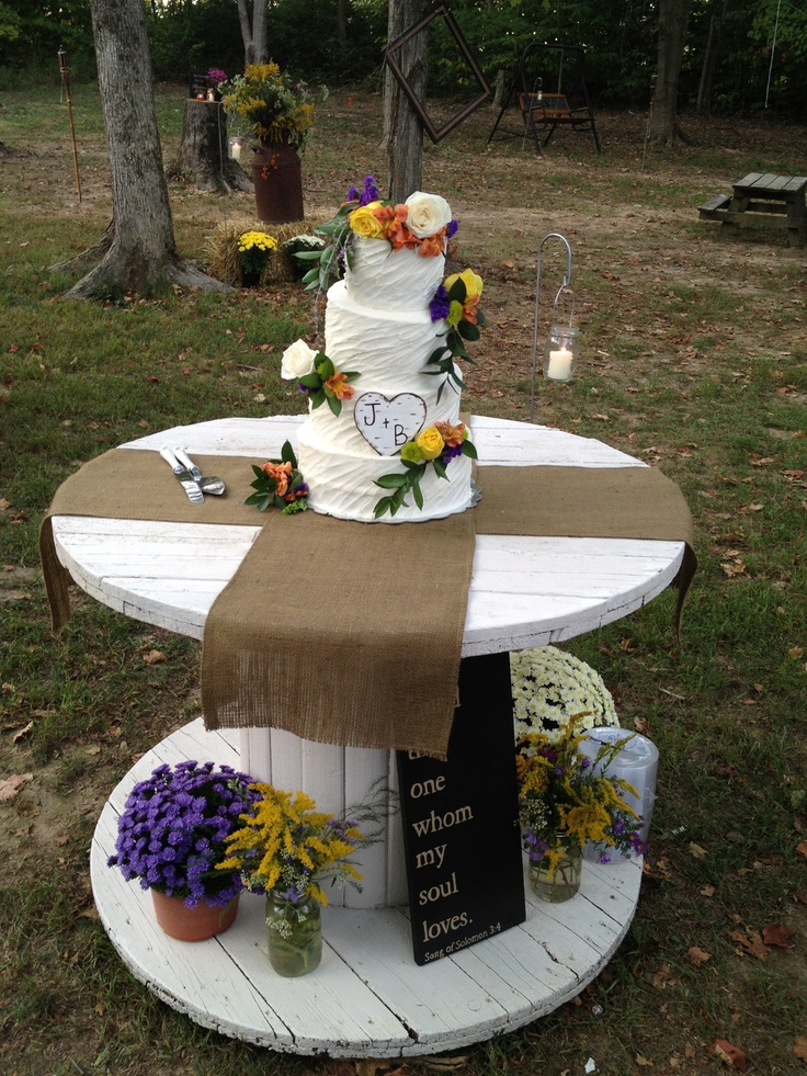 Wooden Candy Table ~ Best images about country wedding on pinterest rustic