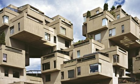 Habitat 67 in Montreal, by Moshe Safdie.  Photograph: UIG via Getty Images
