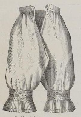 Percale drawers from Le Moniteur de la Mode 1877