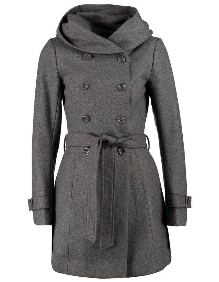 Manteau femme hiver gris Only