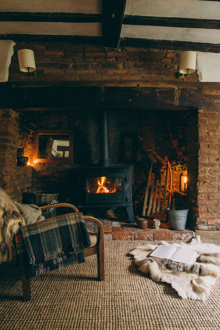 The heart of the home. Cold cosy nights by the fire, where nothing but a blanket and a good book will do....