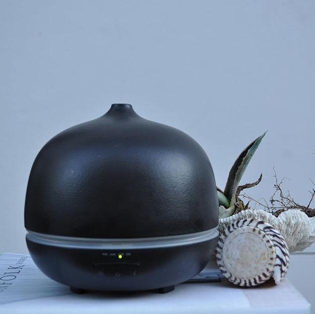 Anjali Black Ceramic Diffuser  Anjali