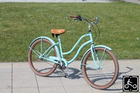 Medium Cruiser kerékpárok. Jelentése középút.