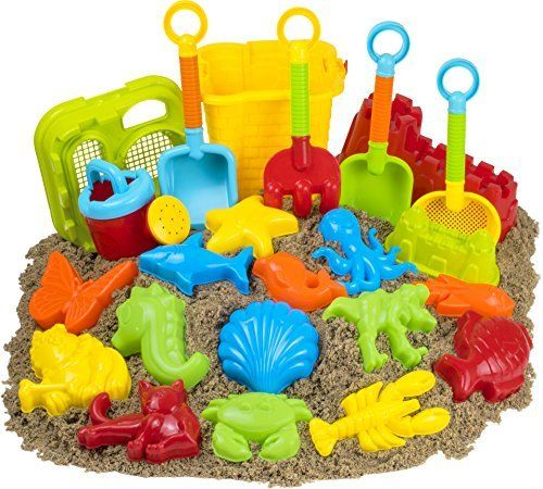 #beachaccessoriesstore 23pc Kids Beach Toys Set, Sandbox Toys; Sand Toys: We are reluctantly selling the popular… #beachaccessoriesstore