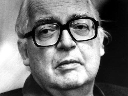 Friedrich Dürrenmatt, Schweizer Schriftsteller (AP Archiv)