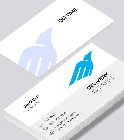 78 best freelance business card designs images on pinterest modern contemporary business card design delivery express business card reheart Images