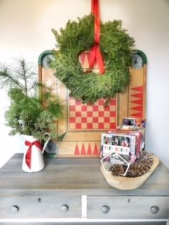 DIY Christmas Card Holder ‹ The Painted Crowe